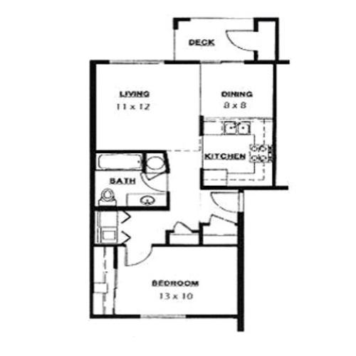 Floor Plan | Parkside Apartments