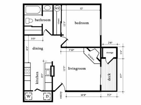 One Bedroom One Bath - Aspen