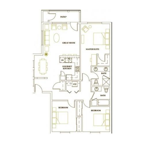Floor Plan 6 | Deveraux Glen