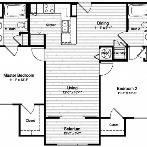 Floor Plan 2 | Windermere Cay