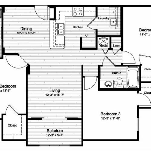 Floor Plan 3 | Windermere Cay