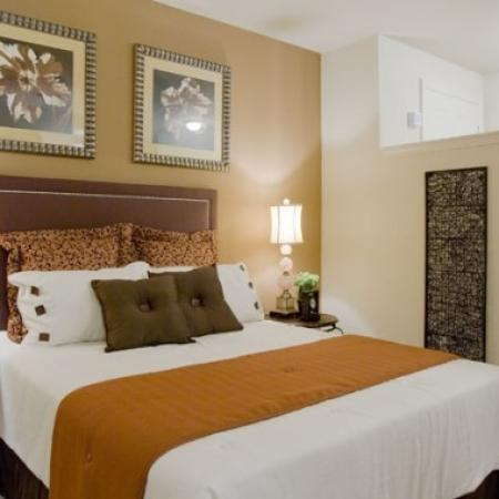Luxurious Bedroom | Orlando Apartments | Aqua at Millenia