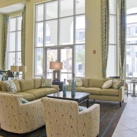 Elegant Living Room | Apartments In Orlando FL | Aqua at Millenia