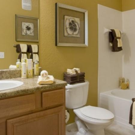 Spacious Bathroom | Best Apartments In Orlando | Aqua at Millenia