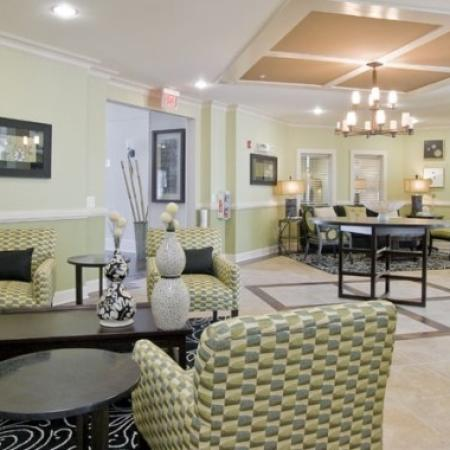 Spacious Resident Club House | Orlando FL Apartments | Aqua at Millenia