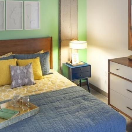 Elegant Bedroom | 2 Bedroom Apartments Portland Oregon | The Addy