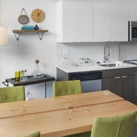 Modern Kitchen | 2 Bedroom Apartments Portland Oregon | The Addy