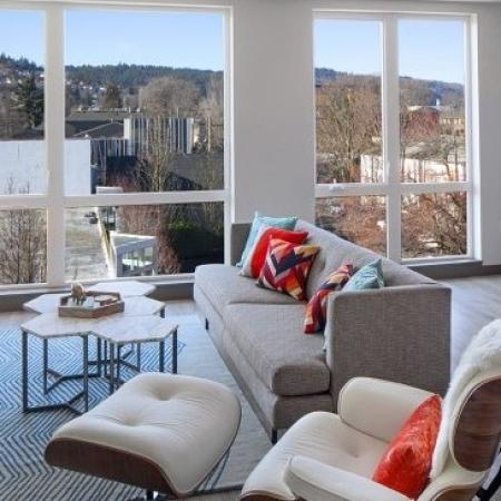 Spacious Living Area | Apartment In Portland Oregon | The Addy