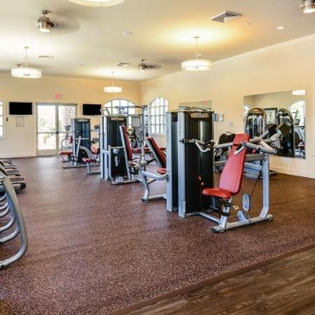 Resident Fitness Center | Orlando Apartments | Sanctuary at Eagle Creek