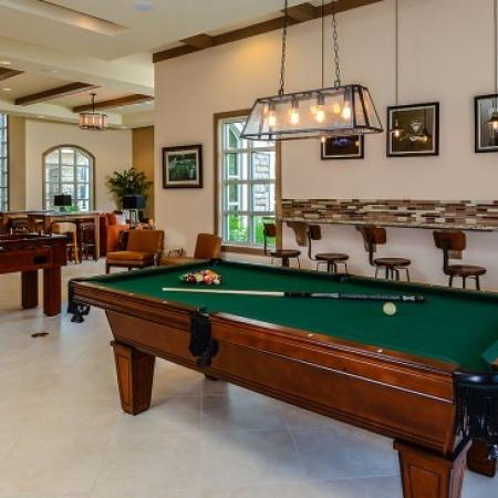 Community Game Room | Orlando Apt | Sanctuary at Eagle Creek