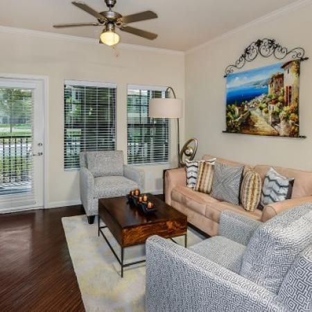 Elegant Living Room | Orlando Apt | Sanctuary at Eagle Creek