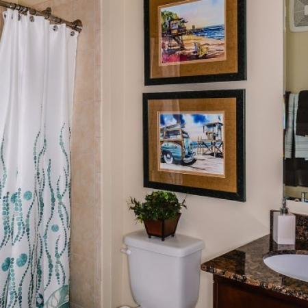 Ornate Bathroom | Luxury Apartments In Orlando Florida | Sanctuary at Eagle Creek