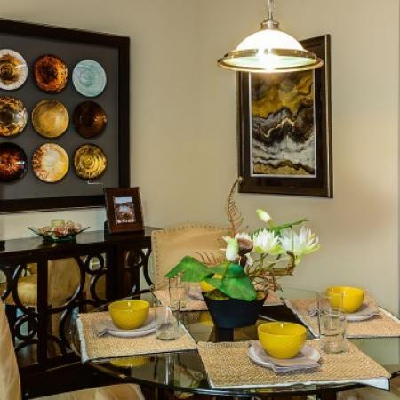 Spacious Dining Room | Apartments In Orlando | Sanctuary at Eagle Creek