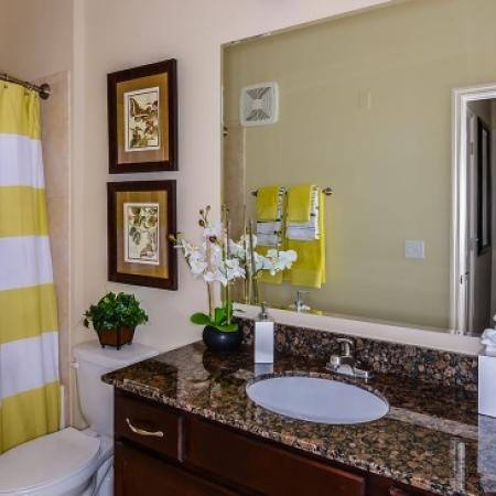 Spacious Bathroom | Apartments For Rent In Orlando FL | Sanctuary at Eagle Creek