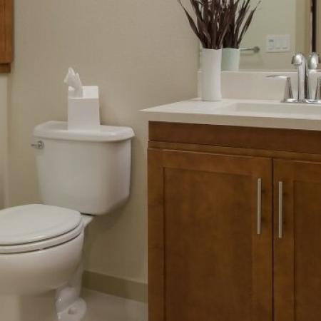 Luxurious Bathroom | San Jose Apartments | 121 Tasman