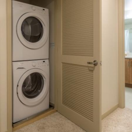 In-home Laundry| Apartments For Rent San Jose | 121 Tasman