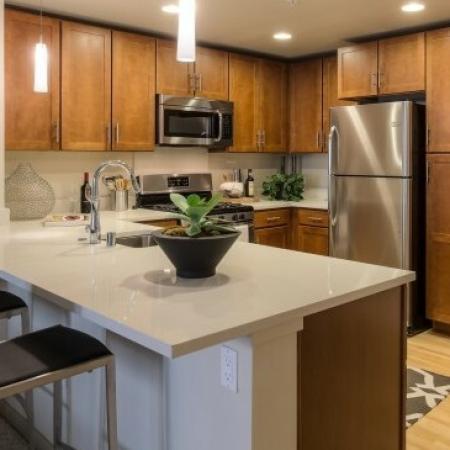 Luxurious Kitchen | Studio Apartments San Jose | 121 Tasman
