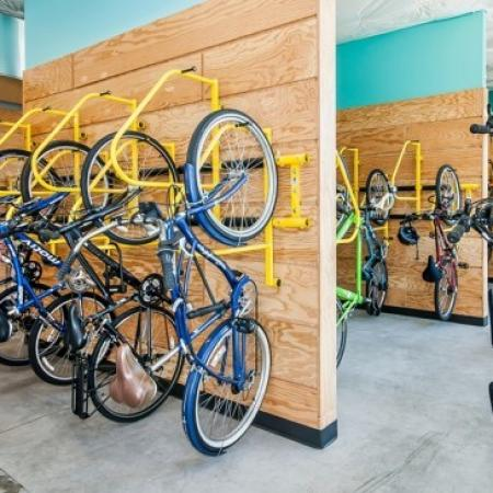 Bike Storage | Apartment In Portland Oregon | The Addy