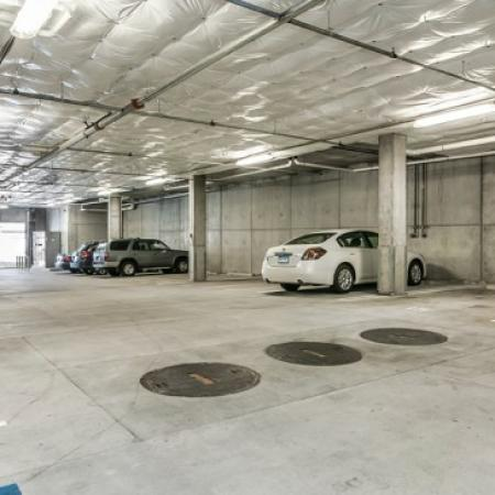 Parking Garage for Residents | Apartment In Portland Oregon | The Addy