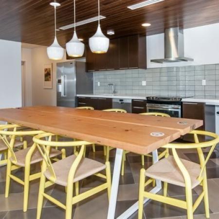 Spacious Community Club House | Studio Apartment Portland Oregon | The Addy