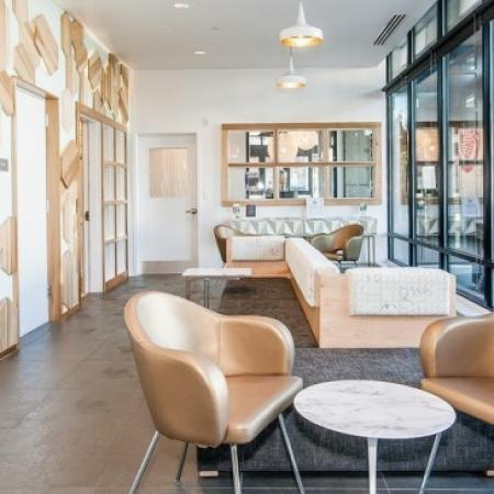 Residents Relaxing in Club Room | 2 Bedroom Apartments Portland Oregon | The Addy