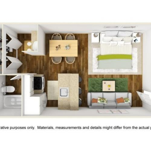 Floor Plan 2 | Scottsdale Gateway II 2