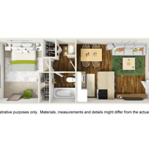 Floor Plan 4 | Scottsdale Gateway II 2