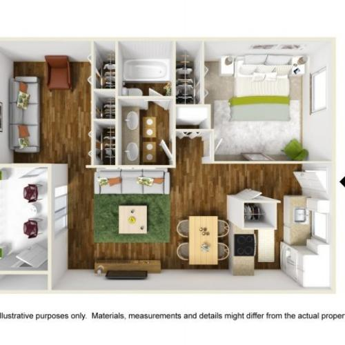Floor Plan 7 | Scottsdale Gateway II