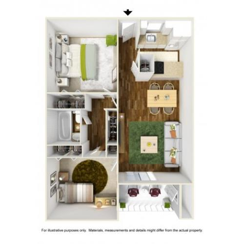 Floor Plan 8 | Scottsdale Gateway II 2