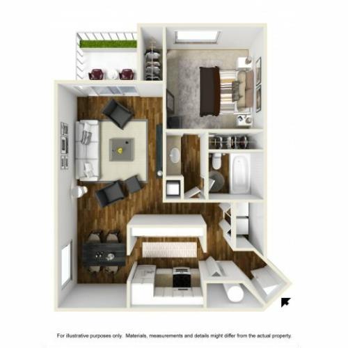 Floor Plan 2 | Chazal Scottsdale 2