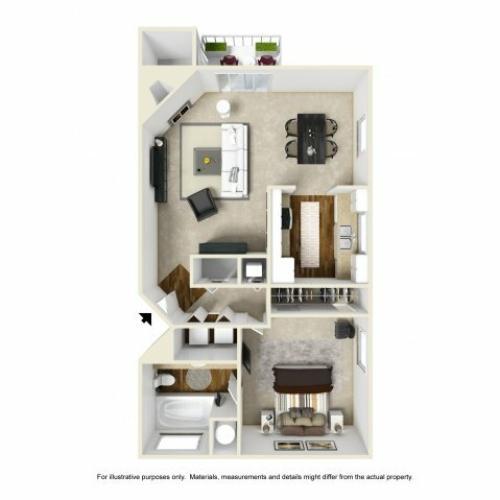 Floor Plan 3 | Chazal Scottsdale 2