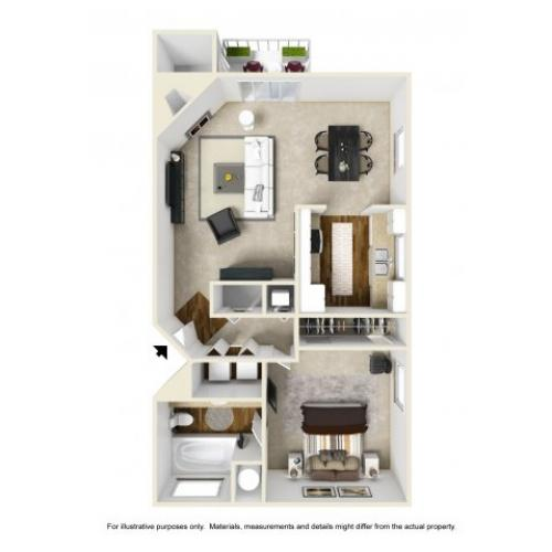 Floor Plan 3 | Chazal Scottsdale 2
