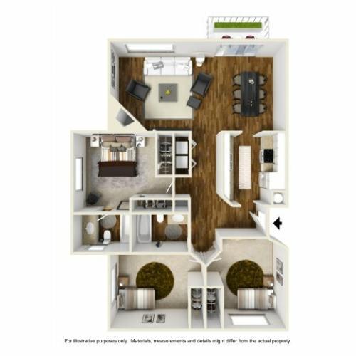Floor Plan 8 | Chazal Scottsdale 2
