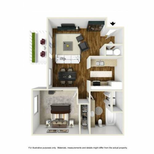 Floor Plan   Chazal Scottsdale 2