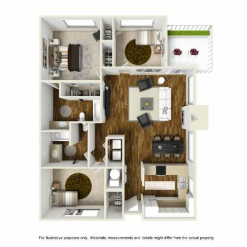 Floor Plan 9 | Chazal Scottsdale 2