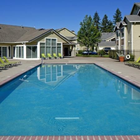 Resort Style Pool | Hillsboro Apartments | Jackson School Village