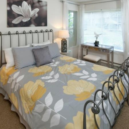 Elegant Bedroom | Apartments For Rent Hillsboro Oregon | Jackson School Village
