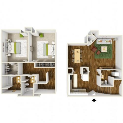 Floor Plan | Rivercrest Meadows 3