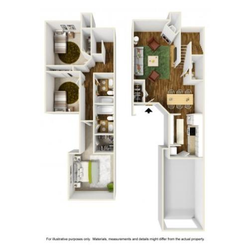 Floor Plan 2 | Rivercrest Meadows 4