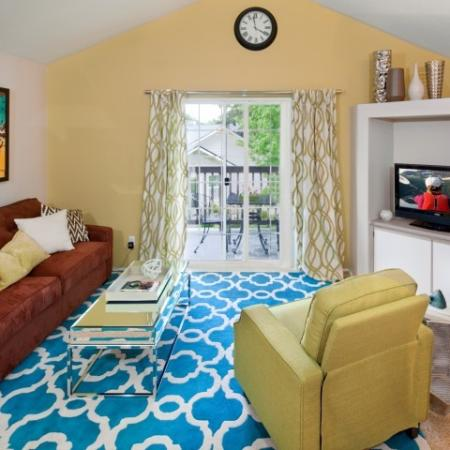 Spacious Living Room | Apartments In Vancouver WA | Eight Towncenter