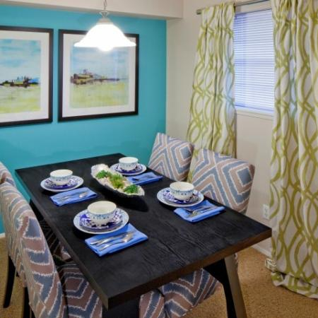 Spacious Dining Room | Studio Apartments Vancouver WA | Eight Towncenter