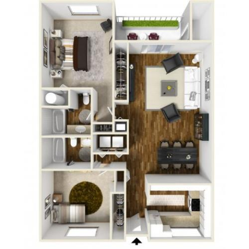 Floor Plan 7 | Chazal Scottsdale