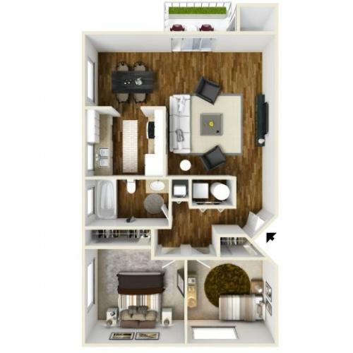 Floor Plan 5   Chazal Scottsdale
