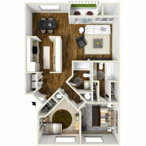 Floor Plan 6 | Chazal Scottsdale
