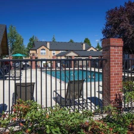 Sparkling Pool | Vancouver WA Apartments | Village at Cascade Park