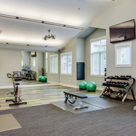 Cutting Edge Fitness Center | Apartments Eugene Oregon | The Bailey at Amazon Creek
