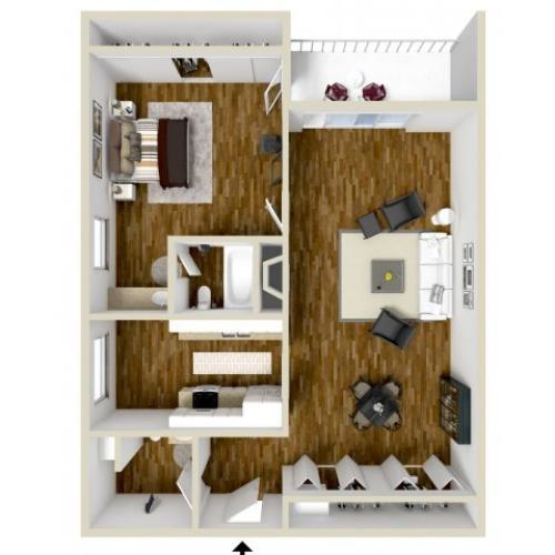 Floor Plan 2 | Dayton Crossing 1