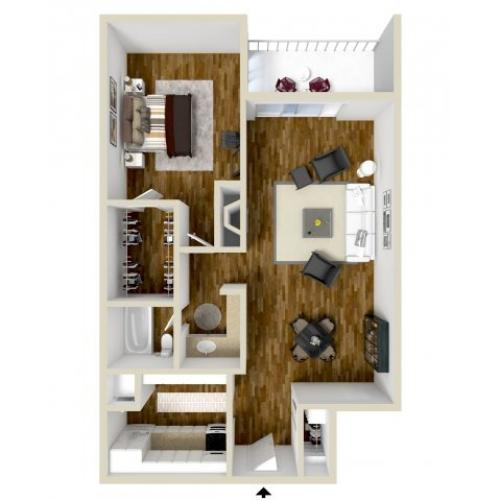 Floor Plan 4 | Dayton Crossing 1