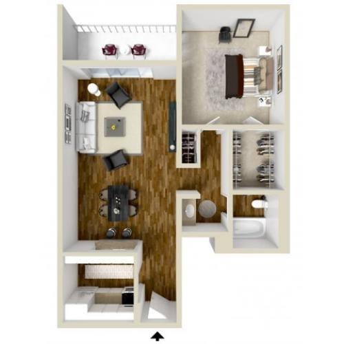 Floor Plan 2 | Woodstream Village