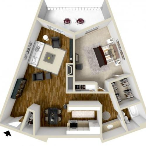 Floor Plan 6 | Woodstream Village